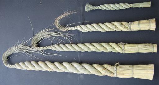 ごぼうしめ縄 ごぼうしめ縄荒神〆から6尺まで各種取り揃えています。(稲わら製) 白し... 有限